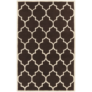 Transit Piper Brown and White Rectangular: 4 Ft x 6 Ft Rug