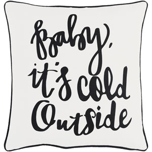 Holiday Winter 18-Inch Pillow Cover and Poly Insert