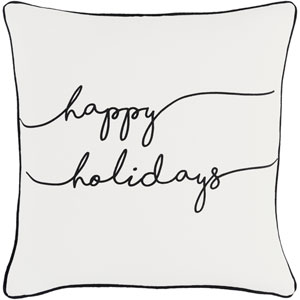 Holiday Joy 18-Inch Pillow Cover and Down Insert
