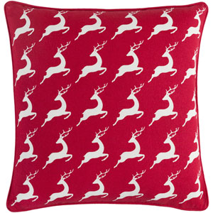 Holiday Bells 18-Inch Pillow Cover and Down Insert