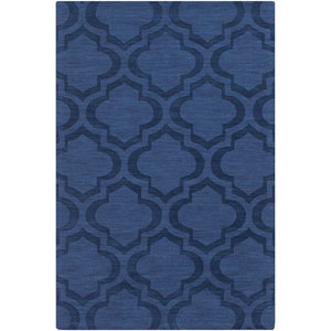 Central Park Kate Navy Rectangular: 3 Ft x 5 Ft Rug
