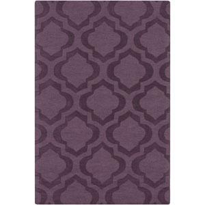 Central Park Kate Purple Rectangular: 2 Ft x 3 Ft Rug
