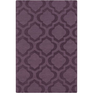 Central Park Kate Purple Rectangular: 3 Ft x 5 Ft Rug