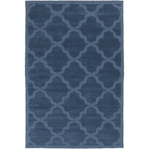 Central Park Abbey Blue Rectangular: 3 Ft x 5 Ft Rug