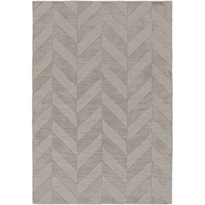 Central Park Carrie Gray Rectangular: 4 Ft x 6 Ft Rug