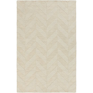 Central Park Carrie Ivory Rectangular: 3 Ft x 5 Ft Rug