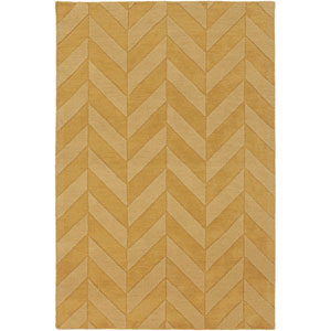 Central Park Carrie Gold Rectangular: 2 Ft x 3 Ft Rug