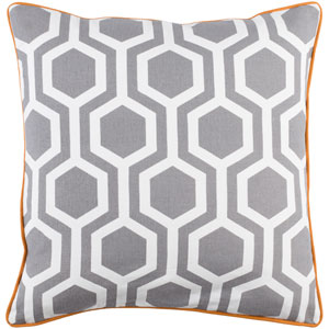 Inga Thea 18-Inch Pillow Cover and Down Insert