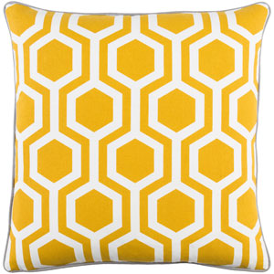 Inga Thea 18-Inch Pillow Cover and Poly Insert