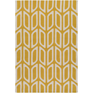 Joan Wellesley Yellow Rectangular: 2 Ft. x 3 Ft. Area Rug