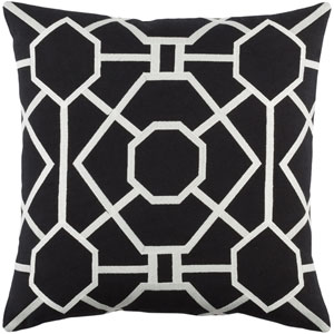Kingdom Porcelain 18-Inch Pillow Cover and Down Insert