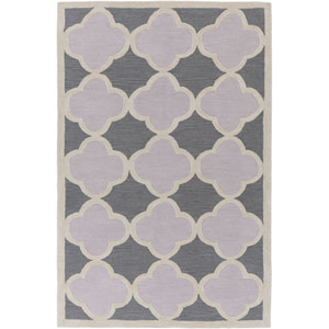 Holden Maisie Charcoal and Light Gray Rectangular: 5 Ft x 7 Ft 6 In Rug