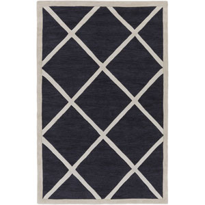 Holden Layla Slate and Ivory Rectangular: 5 Ft x 7 Ft 6 In Rug