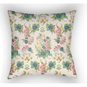 Lolita Lola Multicolor 18 x 18 In. Pillow with Poly Fill