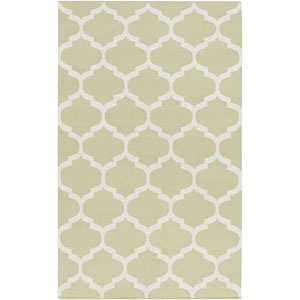 Vogue Everly Sage and White Rectangular: 5 Ft x 8 Ft Rug