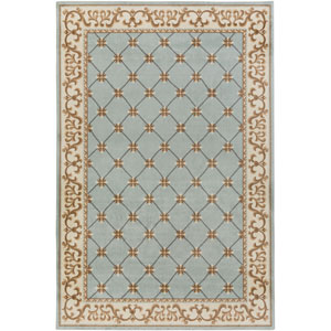 Madeline Alexis Light Blue Rectangular: 2 Ft. x 3 Ft. Rug