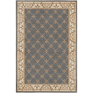 Madeline Alexis Gray Rectangular: 2 Ft. x 3 Ft. Rug