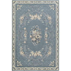 Madeline Gianna Blue Rectangular: 2 Ft. x 3 Ft. Rug