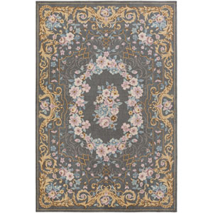 Madeline Melanie Multicolor, Gray Rectangular: 2 Ft. x 3 Ft. Rug