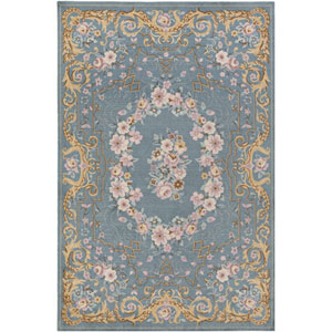 Madeline Melanie Multicolor, Blue Rectangular: 2 Ft. x 3 Ft. Rug