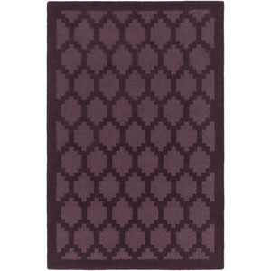 Metro Riley Purple Rectangular: 2 Ft x 3 Ft Rug