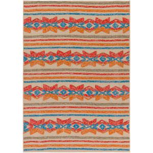 Mayan Star Multicolor Rectangular: 2 Ft. x 3 Ft. Rug