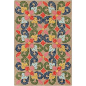 Mayan Naran Multicolor Rectangular: 2 Ft. x 3 Ft. Rug
