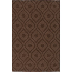 Central Park Zara Brown Rectangular: 8 Ft x 10 Ft Rug