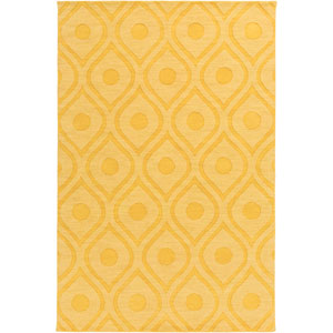 Central Park Zara Yellow Rectangular: 9 Ft x 12 Ft Rug