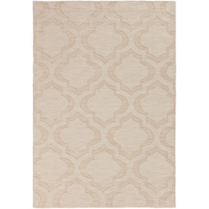 Central Park Kate Beige Rectangular: 9 Ft x 12 Ft Rug