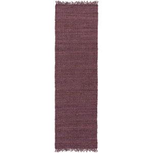 Tropica Harper Purple Runner: 2 Ft 3 In x 8 Ft Rug