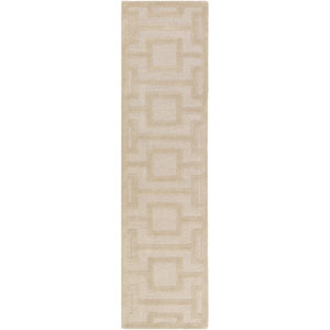 Poland Washington Beige Runner: 2 Ft. x 8 Ft.