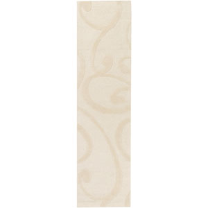 Poland Bailey Cream Runner: 2 Ft. x 8 Ft.