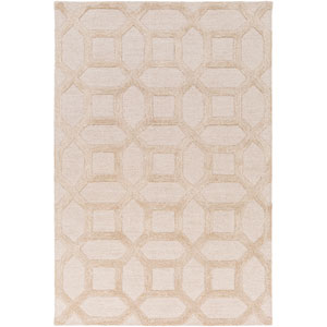 Arise Evie Ivory and Beige Rectangular: 2 Ft x 3 Ft Rug