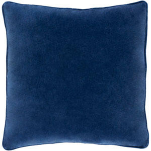Safflower Ally Navy Blue 18 x 18 In. Pillow with Down Fill