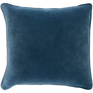 Safflower Ally Teal 18 x 18 In. Pillow with Poly Fill