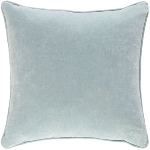 Safflower Ally 18-Inch Mint Pillow Cover
