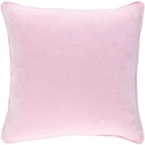 Safflower Ally 18-Inch Light Pink Pillow Cover