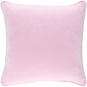 Safflower Ally Light Pink 18 x 18 In. Pillow with Down Fill