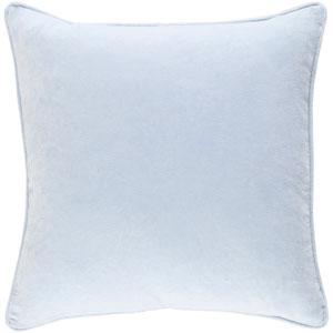 Safflower Ally 18-Inch Light Blue Pillow Cover