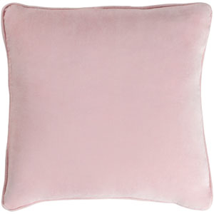 Safflower Ally Blush Pink 18 x 18 In. Pillow with Down Fill