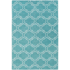 Signature Emily Light Blue and Ivory Rectangular: 2 Ft x 3 Ft Rug