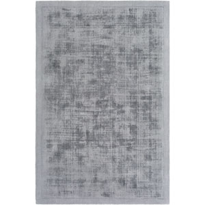 Silk Route Rainey Charcoal Round: 5 Ft 9 In Rug