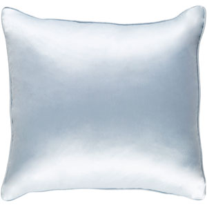 Tokyo Pree Light Blue 18 x 18 In. Pillow with Poly Fill
