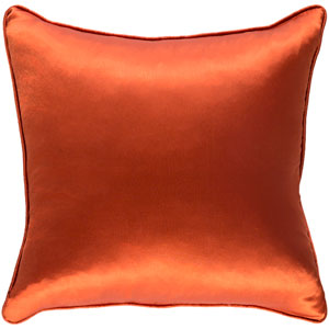 Tokyo Pree Poppy Red 18 x 18 In. Pillow with Poly Fill