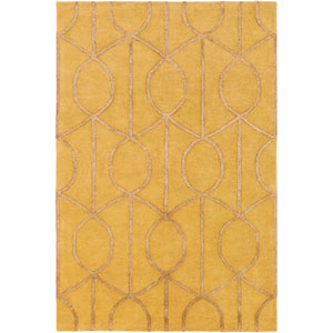 Urban Marie Gold Rectangular: 2 Ft x 3 Ft Rug