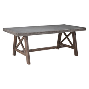 Ford Dining Table Cement and Natural