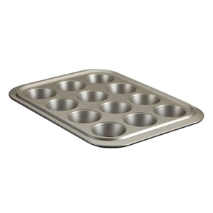 Anolon Advanced Nonstick Graphite 12 Cup Muffin Pan With