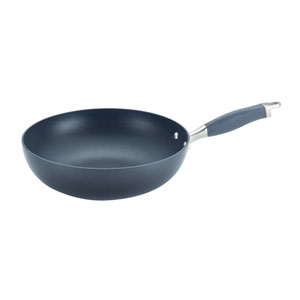 Advanced Hard-Anodized Nonstick, Gray 12-Inch Stir Fry
