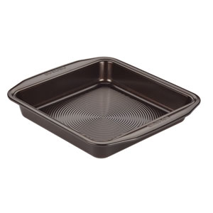 Symmetry Chocolate Nonstick Bakeware 9-Inch Square Cake Pan